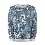 Buy Mens Sweatshirt 3D: Phoenix Mask Dota 2 jacket merchandise collectibles