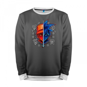 Buy Mens Sweatshirt 3D: 5 Pokemon Go Grey