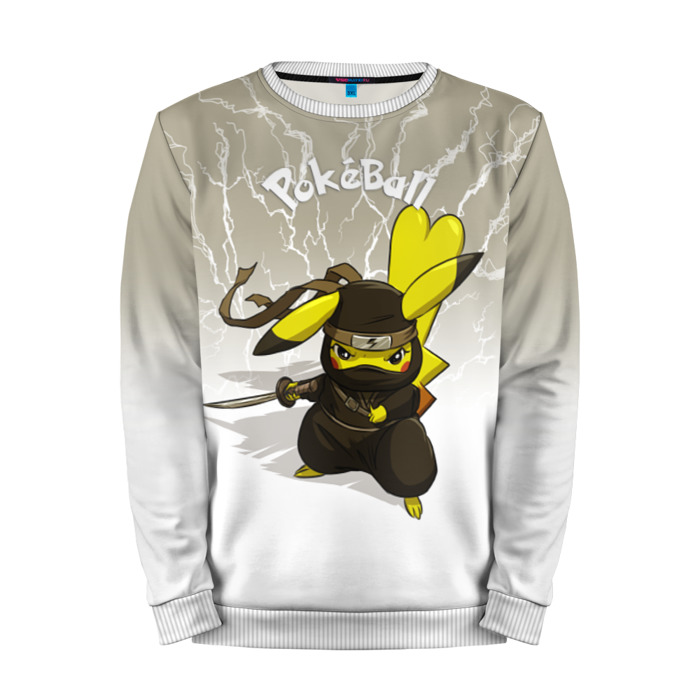 Buy Mens Sweatshirt 3D: Pikachu Pokemon Go