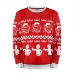 Merch Sweatshirt Fallout Sweater Christmas Special