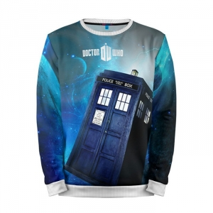 Buy Mens Sweatshirt 3D: Tardis Doctor Who Merchandise Merchandise collectibles