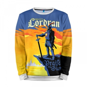 Buy Mens Sweatshirt 3D: Dark Souls 13 Lordran merchandise collectibles