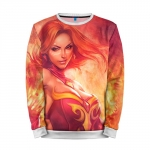 Merchandise Sweatshirt Lina Dota 2 Original Skin Jacket