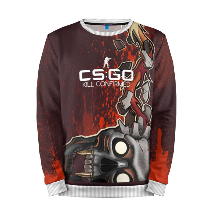 Merchandise Sweatshirt Cs:go Kill Confirmed Style Counter Strike