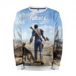 Merch Sweatshirt Fallout 4 Wasteland Character