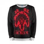Merchandise Sweatshirt Horde For The Horde World Of Warcraft