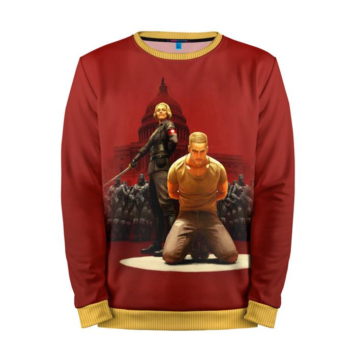 Buy Mens Sweatshirt 3D: Wolfenstein Merch merchandise collectibles
