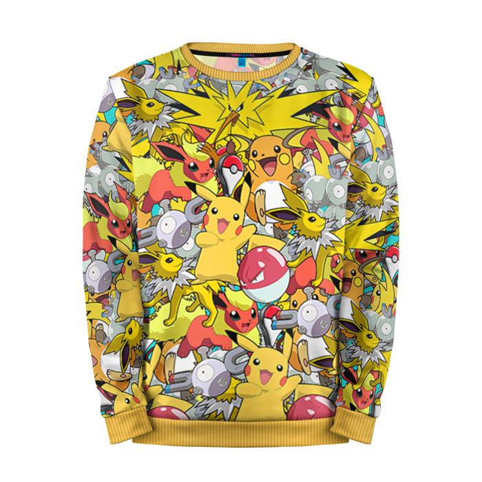 Buy Mens Sweatshirt 3D: Pokemon 5 Pokemon Go merchandise collectibles
