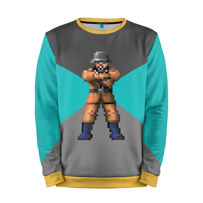 Buy Mens Sweatshirt 3D: Wolfenstein Art Retro merchandise collectibles
