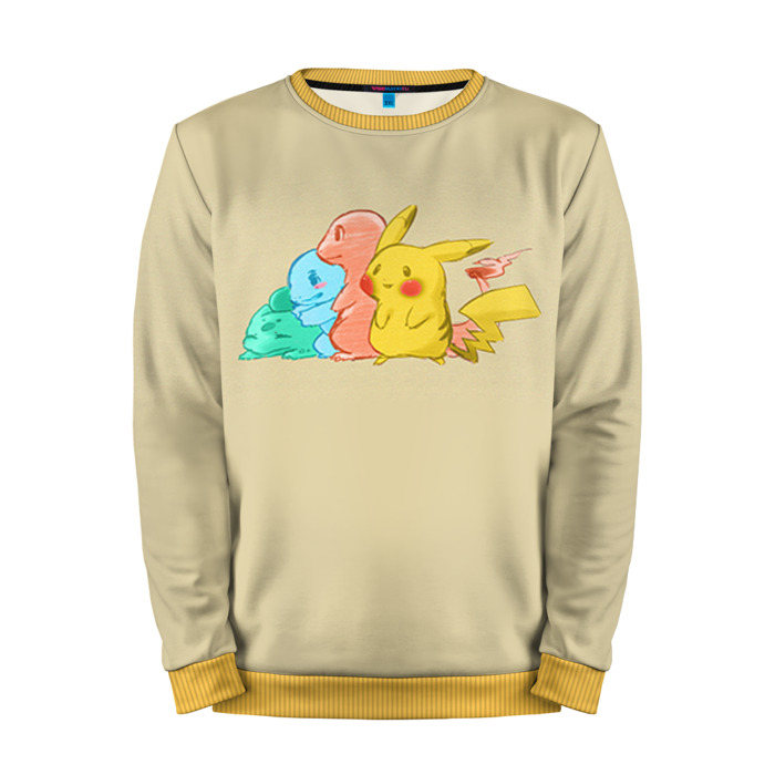 Buy Mens Sweatshirt 3D: Pokemon Go squirtle