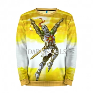Buy Mens Sweatshirt 3D: Dark Souls 9 Yellow Art merchandise collectibles