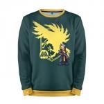 Merchandise Sweatshirt Yellow Destiny Pixel Art