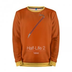 Buy Mens Sweatshirt 3D: Half Life Orange Art Weapon merchandise collectibles