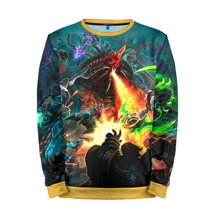 Buy Mens Sweatshirt 3D: HotS 8 Heroes of the storm merchandise collectibles