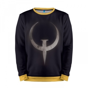 Buy Mens Sweatshirt 3D: Quake champions shooter merchandise collectibles