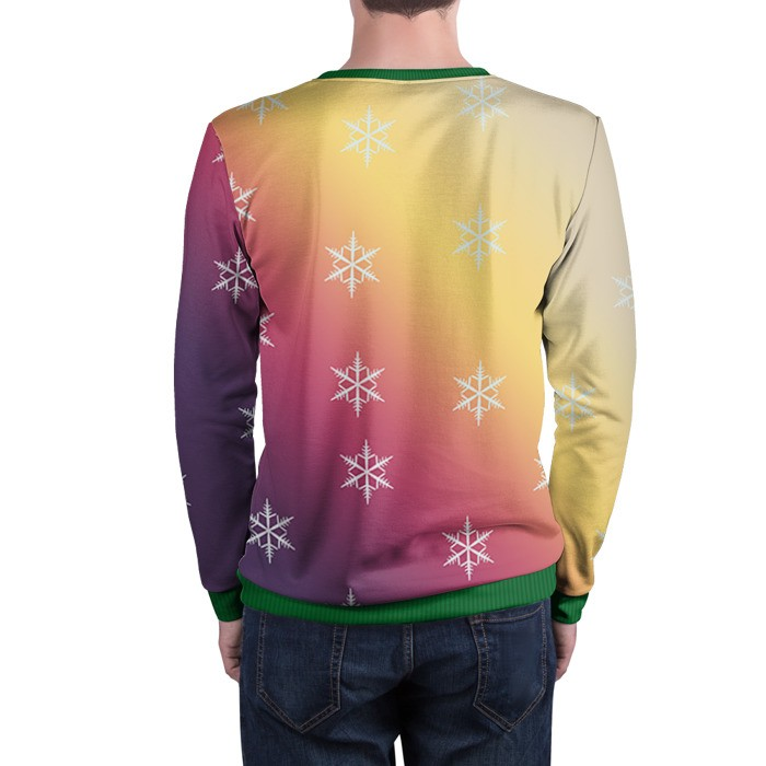 Merch Sweatshirt Christmas Special Cs:go Gradient Counter Strike