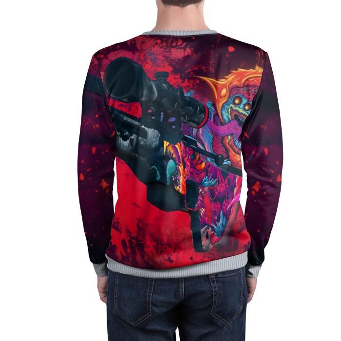 Merchandise Sweatshirt Cs Go Counter Strike Awp Hyper Beast
