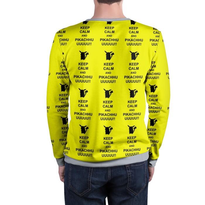Merch Sweatshirt Pikachu Keep Calm Pokemon Go