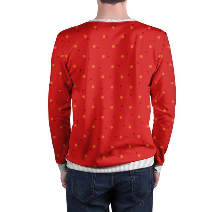 Collectibles Sweatshirt Pikachu Pokemon Red Pattern