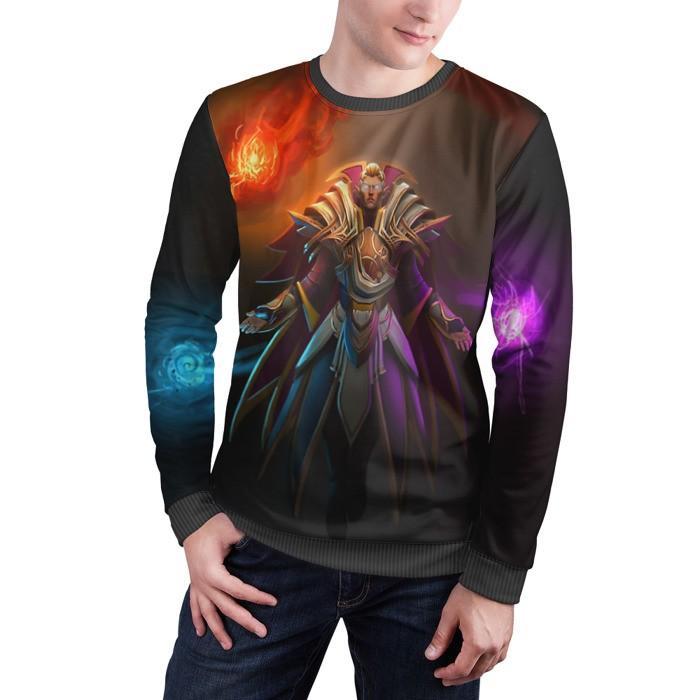 Merchandise Sweatshirt Invoker Vestige Of The Arsenal Magus Dota 2 Jacket