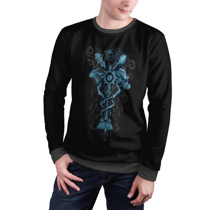 Merch Sweatshirt Mage Spells World Of Warcraft