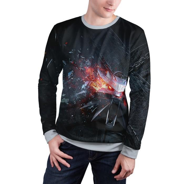 Collectibles Sweatshirt Wolf Logo Geralt The Witcher