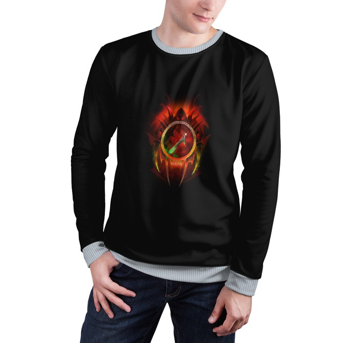 Collectibles Sweatshirt Rogue Bloody Icon World Of Warcraft