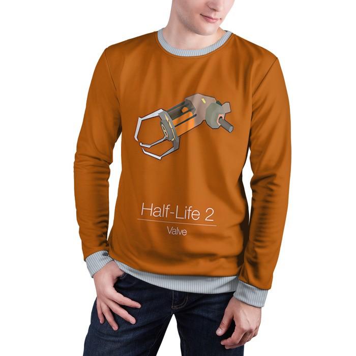 Buy Mens Sweatshirt 3D: Gravity gun Half Life merchandise collectibles