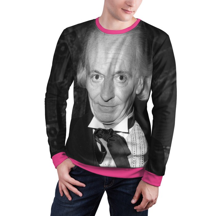 Collectibles Sweatshirt 1St Doctor Art William Hartnell Doctor Who