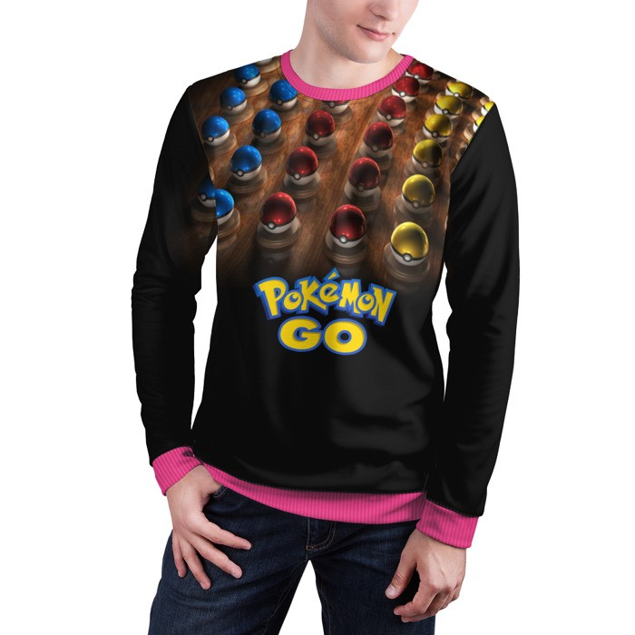 Merch Sweatshirt Pokemon Go 2 Title