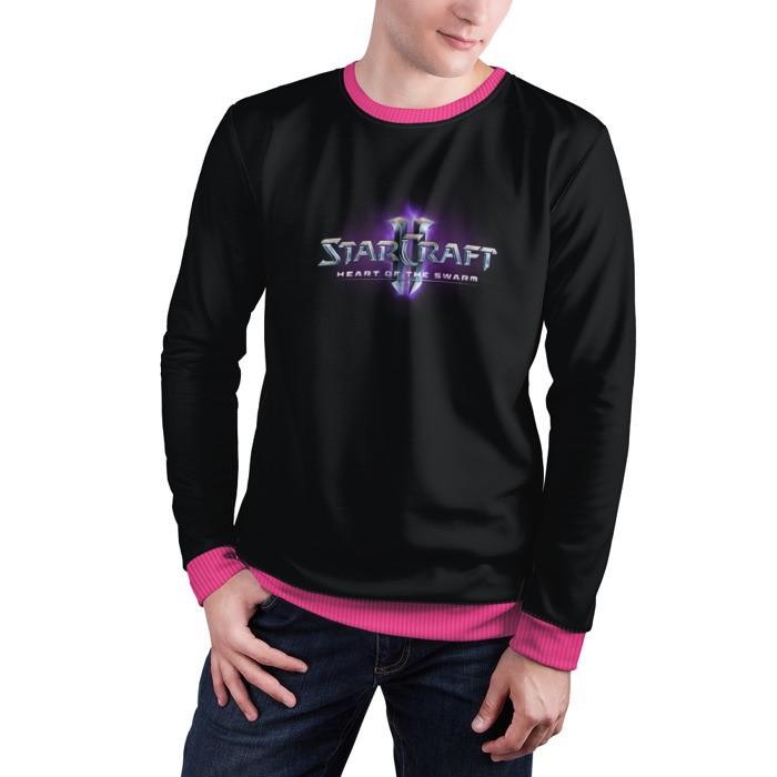 Collectibles Sweatshirt Starcraft Ii Heart Of Swarm Logo