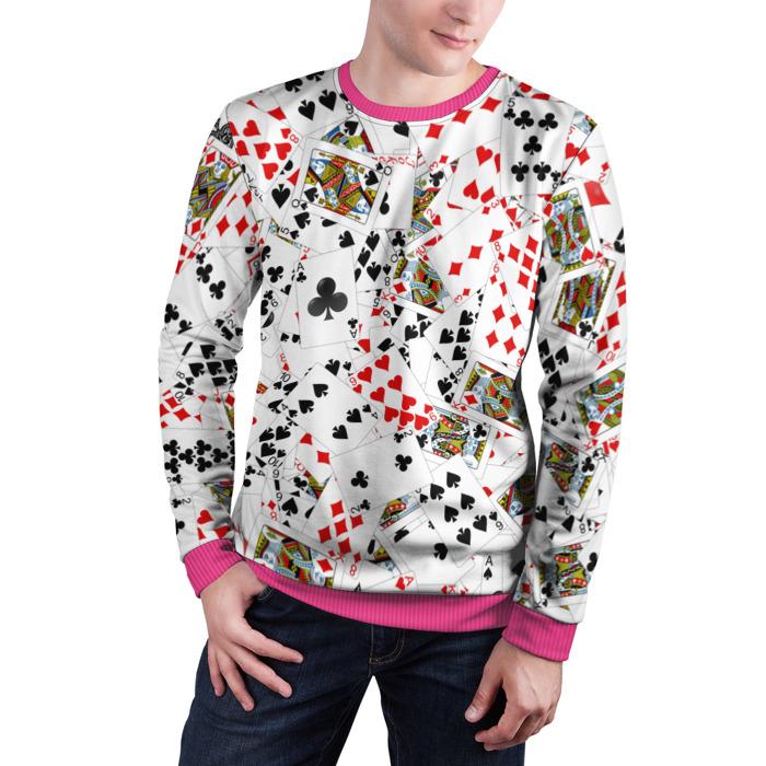 Merchandise Sweatshirt Play Cards Deck Poker