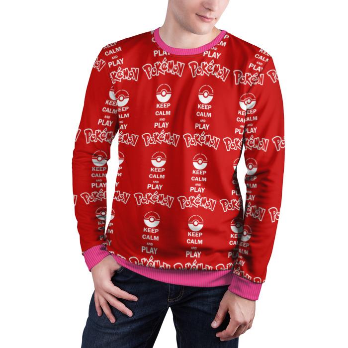 Collectibles Sweatshirt Pokeball Keep Calm Pokemon Go