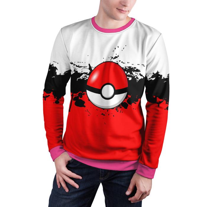 Merch Sweatshirt Pokeball Pokemon