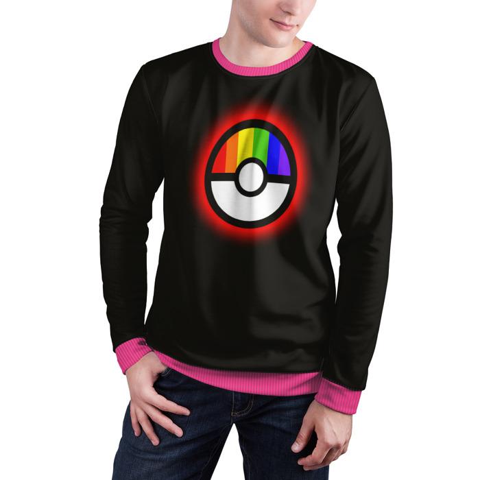 Collectibles Sweatshirt Pokeball Rainbow Pokemon Go