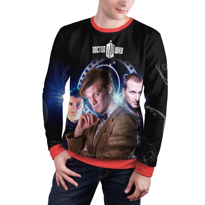 Merch Sweatshirt Doctor Who 9Th 10Th 11Th Doctors