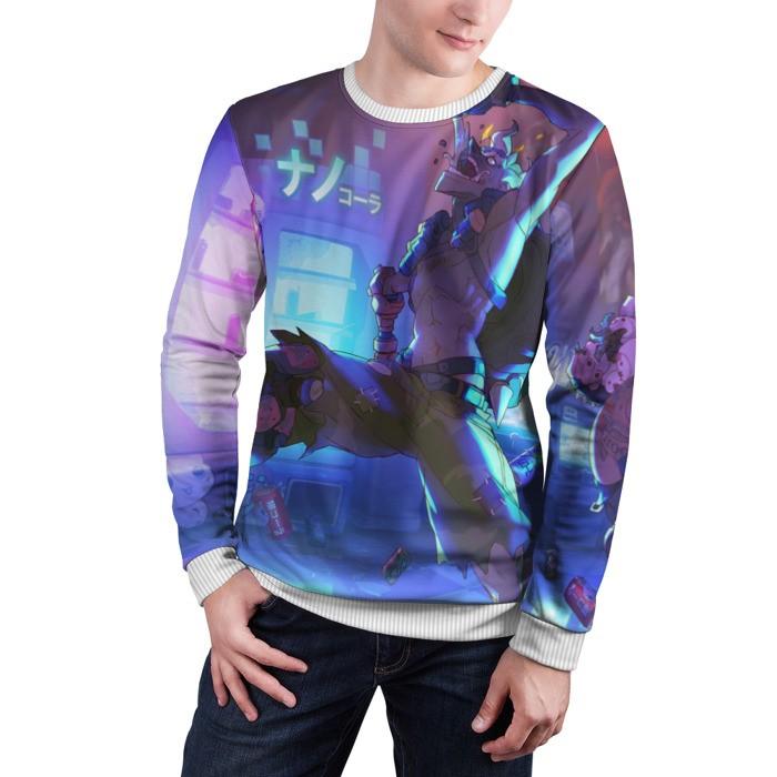 Merch Sweatshirt Runner Overwatch