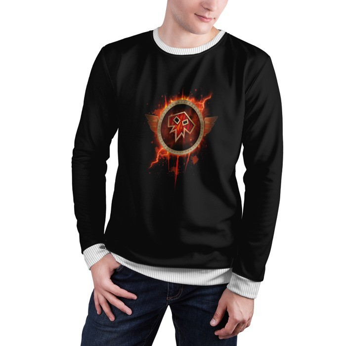 Merchandise Sweatshirt Shaman Icon World Of Warcraft