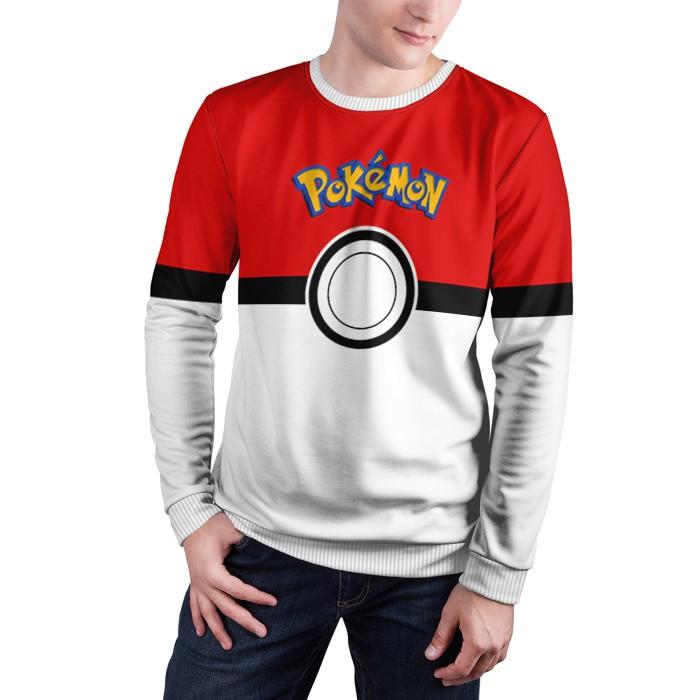 Merch Sweatshirt Pokeball 3 Pokemon Go