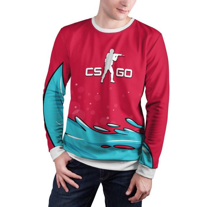 Collectibles Sweatshirt Water Elemental Cs Go Counter Strike