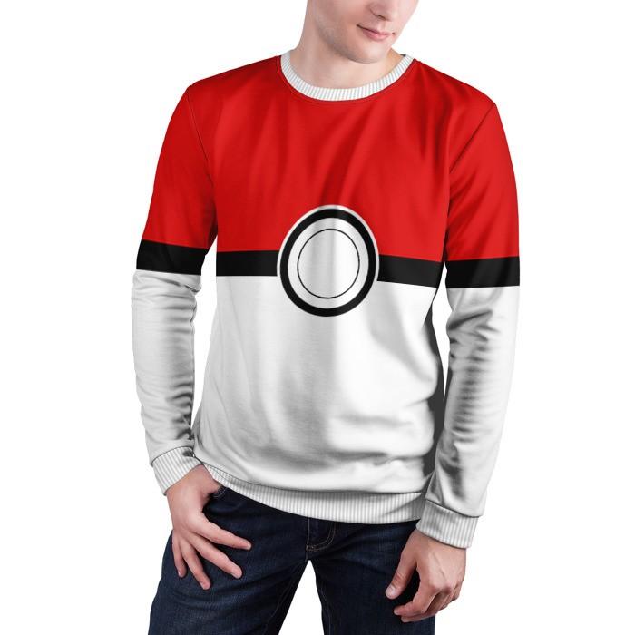 Collectibles Sweatshirt Pokeball Print Pokemon Merch