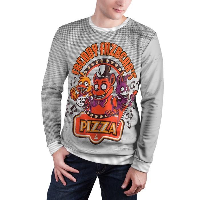 Merch Sweatshirt Five Nights At Freddy'S Fazbear'S Pizza Apparel
