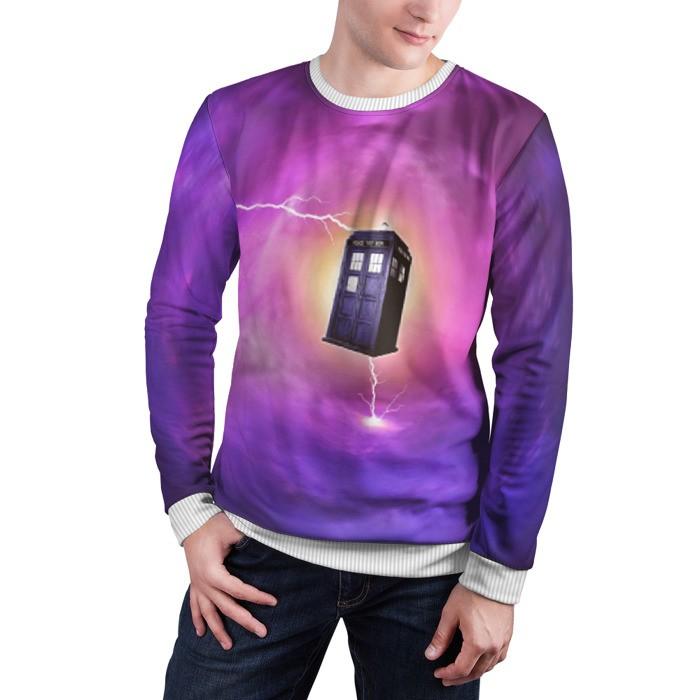 Collectibles Sweatshirt Time Vortex Doctor Who Tardis Merch