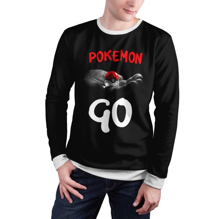 Merch Sweatshirt Pokemon Go Hand Pokeball