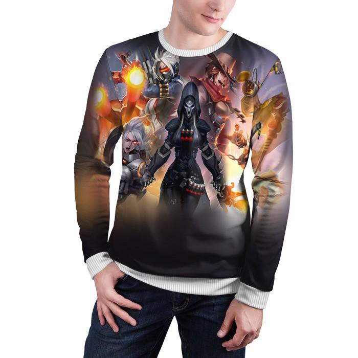 Merch Sweatshirt Overwatch 9 Jersey Game Sweater