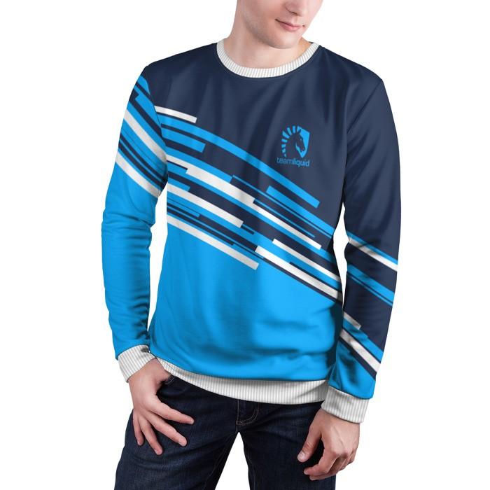 Collectibles Sweatshirt Team Liquid Uniform Stripes Dota 2