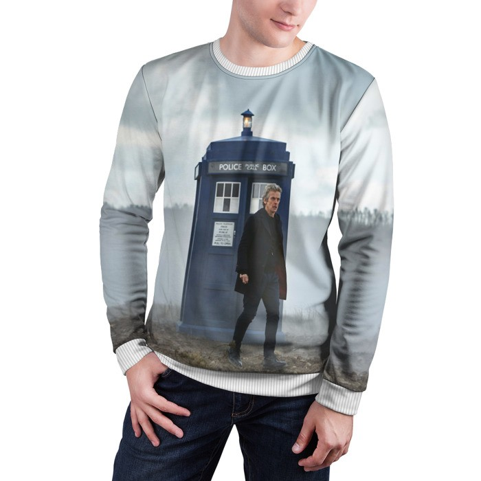 Collectibles Sweatshirt Doctor Who Peter Capaldi 12Th Doctor