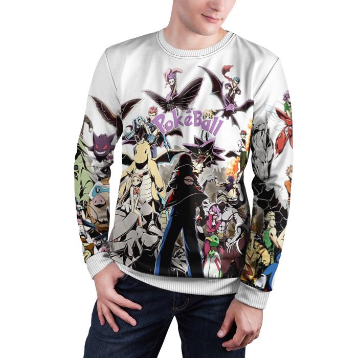 Merch Sweatshirt Pokeball Art Esh Pokemon Go