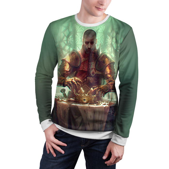 Collectibles Sweatshirt The Witcher King Print