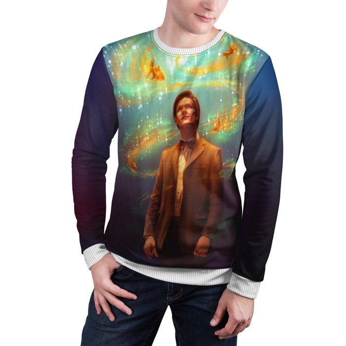 Merch Sweatshirt Fish Doctor Who 11Th Doctor Matt Smith